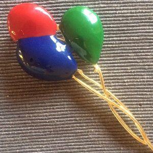 🎈VTG 70s Unique Balloon Brooch!🎈